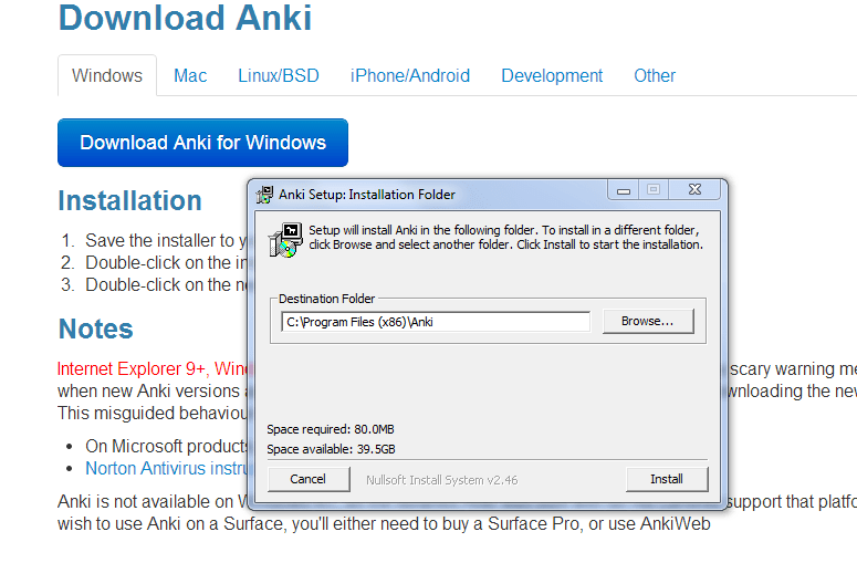 Aprender inglés con anki screenshot 02