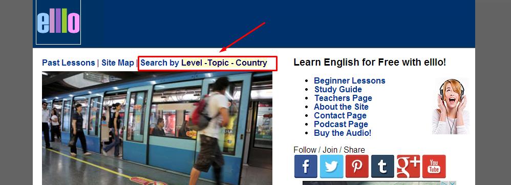 recursos para aprender ingles elllo