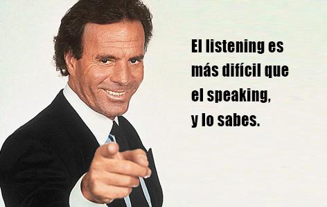 aprender inglés - examen de cambridge - Julio Iglesias