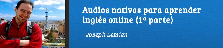 Daway Talks 10: Audios para aprender inglés – Joseph Lemien (1)
