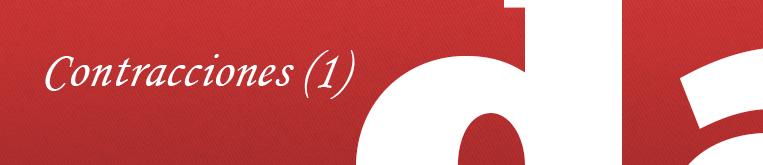 Curso de fonética básica: contracciones en inglés (1)